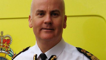 Anthony Marsh, chief executive of the East of England Ambulance Service NHS Trust.