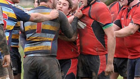 Wisbech rugby vs Old Cooperians. Picture: Steve Williams.
