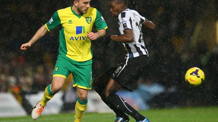 Robert Snodgrass in action against Newcastle United. Picture: Paul Chesterton/Focus Images Ltd