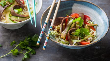 Thai Beef Salad. Just one of the recipes from the Great British Chefs.