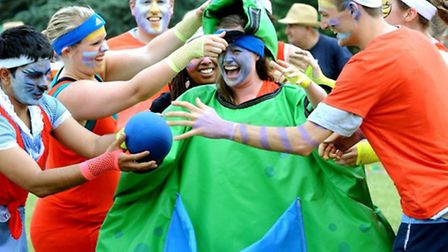 Slippery slope: Making a splash and having fun at the It's A Knockout and Grand Fete held on Hardwic