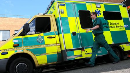 An ambulance, air ambulance and rapid response vehicle were sent to the scene