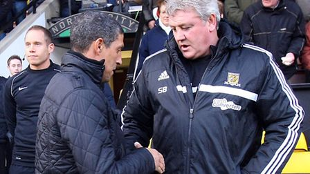 Norwich City boss Chris Hughton and Hull counterpart Steve Bruce know they are in for a tense Premie