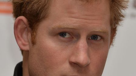 Prince Harry speaks at the Walking With The Wounded South Pole Allied Challenge welcome home press c