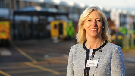 Wendy Cookson, who has been appointed as a new director at the Queen Elizabeth Hospital in King's Ly