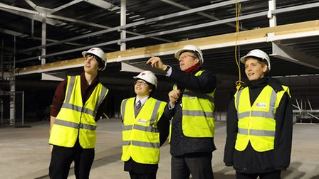 Principal Alex Hayes describes plans for the new University Technical College Norfolk building to fu