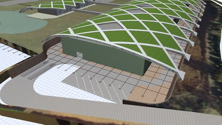 Artists' impression of the plant Material Works hopes to build near King's Lynn.