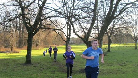 Action from the 50th Thetford Parkrun.