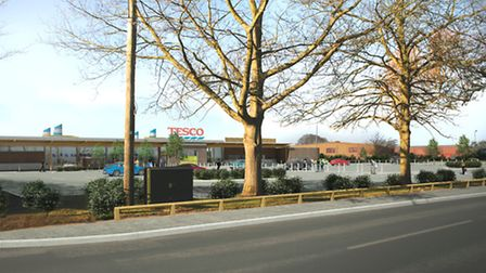 How the Swaffham Tesco will look. Photo: submitted.