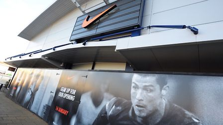 The new Nike store at Riverside, Norwich.PHOTO BY SIMON FINLAY