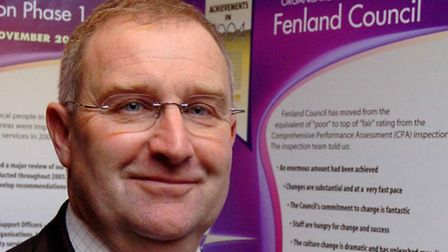 Picture shows f Alan Melton , leader of Fenland District Council.; For EDP News
