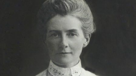 Edith Cavell picture 1895Published with permission of St Mary's church Swardeston.