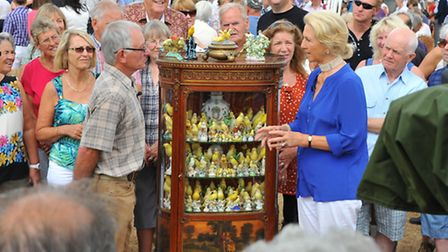 The ever popular BBC Antiques Roadshow draws in hundreds of members of the public for the filming of