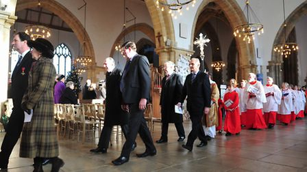 A civic service was held at Yarmouth Minster to celebrate Sir James Paget's Bicentenary.