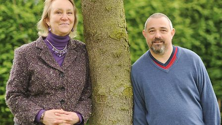 Liz Hunton and David Birch are running a charity to raise money for people in Gambia. Picture: Ian B