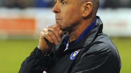 Lowestoft joint boss Micky Chapman. Picture: Gregg Brown.