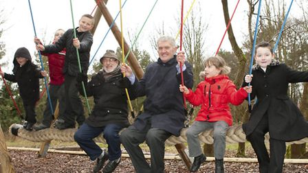 Yew Drive, Brandon play area opening. Credit Keith Mindham