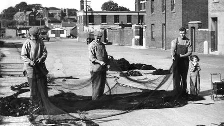Checking of nets in Great Yarmouth