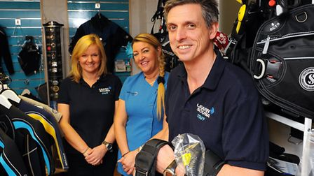 Lowestoft-based Learn Scuba reopens today in new premises after the shop in London Road South was fl