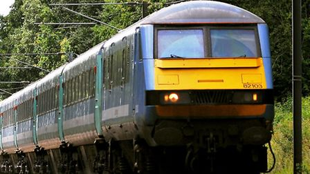 Train services between Norwich and Ipswich have been affected after a person was hit by a train at S