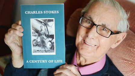 Charles Stokes has had his autobiography published. Picture: Ian Burt