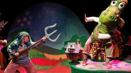 Dotty the Dragon at the Norwich Playhouse, February 20 to 22.