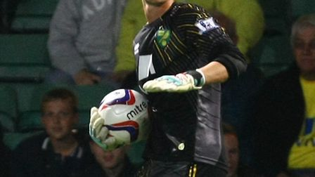 Norwich keeper Declan Rudd has grown up on loan at Preston. Picture by Paul Chesterton/Focus Images