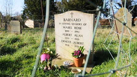 Thornage church is to get a new toilet and tea-making point. The remains of Mabel Rose Barnard and h