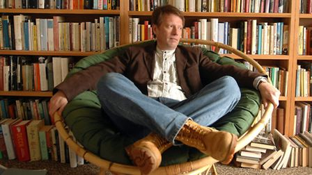 DJ Taylor, who will be appearing at the King's Lynn Fiction Festival.