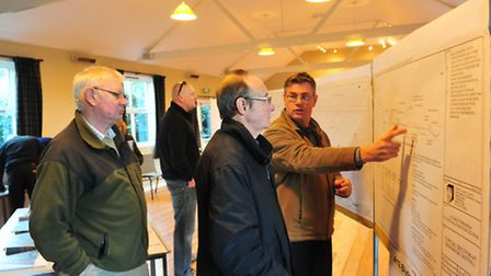 A public exhibition was held at Blythburgh village hall detailing plans for a new flood defence sche