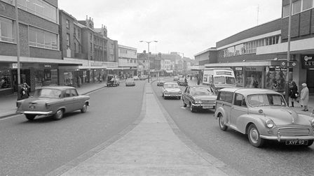 How St Stephens Street looked in 1968. Pic: Archant Library.