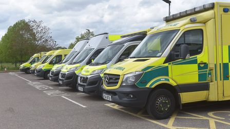 Inspectors published a damning report into East of England Ambulance Sevices. Picture: BRITTANY WOOD