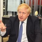 Boris Johnson pledged he would get the road dualled during a visit to the EDP office. Photo: BRITTAN