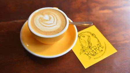 Kofra coffee in Norwich. Picture: BRITTANY WOODMAN