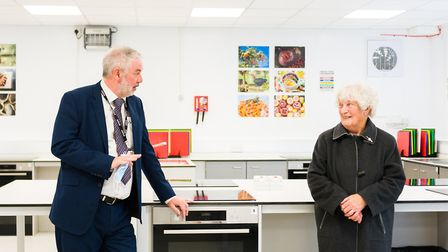 The official opening of the Pendall Building at Smithdon High School, Hunstanton. Picture: Ian Burt