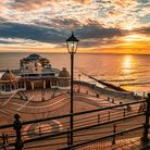 A serene seafront sunrise at Cromer. Picture: Christopher Dean