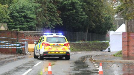 Matthew Constantinou has appeared in court charged with murdering Thomas Moore in North Walsham. Pho