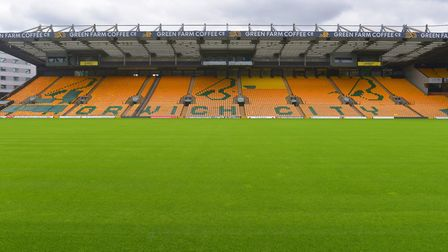 Norwich City Football Club August 2020 Carrow Road Pictures: BRITTANY WOODMAN