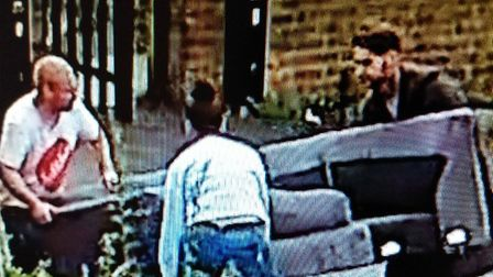 Suspected fly-tippers were caught on CCTV dumping rubbish at Breckland House off St Nicholas Street,