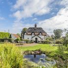 This three-bedroom cottage in Woodrising, near Hingham, is for sale at a guide price of 495,000. Pic