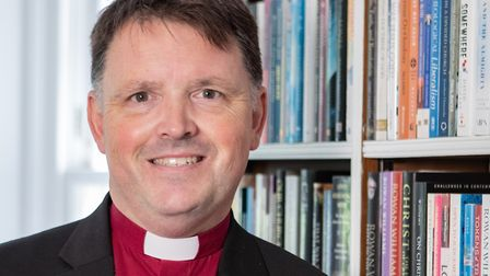 Bishop of Norwich Graham Usher becomes Patron of Norfolk Community Foundation. Picture: Norfolk Comm
