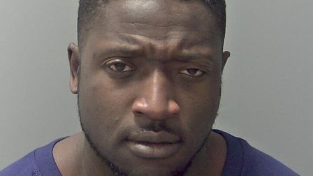 Benjamin Asante was sentenced to 22 months. Picture: NORFOLK CONSTABULARY