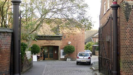 Wensum Lodge in Norwich, where adult education is to continue into the future.