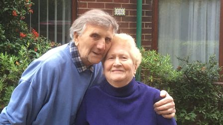 Derrick and Ena Betts of Bowthorpe Road in Norwich. Picture: Archant