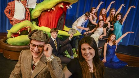 Pupils at Northgate High School are putting on a performance of Little Shop of Horrors. Picture: Mat