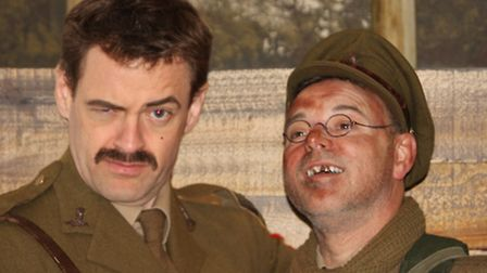Dereham Theatre Company is bringing Blackadder Goes Forth to the Memorial Hall