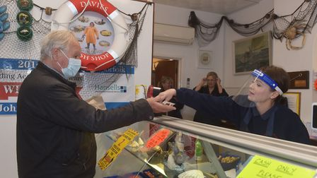 Shop local campaign Cromer North Norfolk John Davies Fish Shop Pictures: BRITTANY WOODMAN