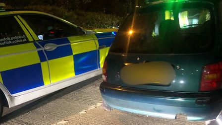 A driver was caught with two tyres exposing cords, defective steering and lights, no exhaust or fron