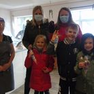 People in Herthersett have got together to create a special whodunit Halloween trail. Picture: Peter