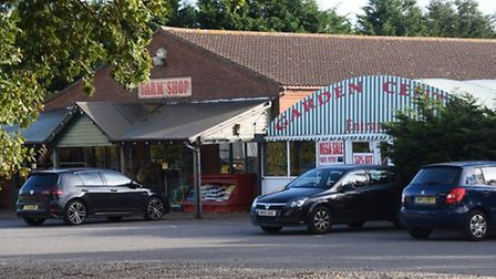 Aylsham Garden Centre; the venue has been purchased by new owners who plan to repen it on October 31